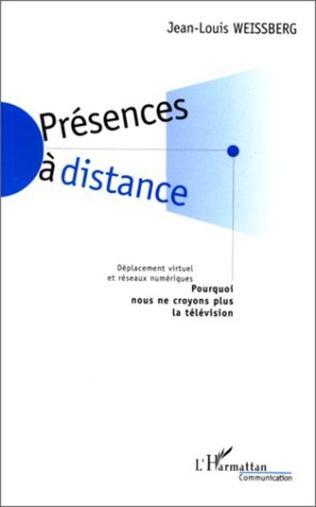 Couverture PRESENCES A DISTANCE