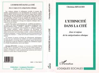 Couverture L'ETHNICITÉ DANS LA CITÉ