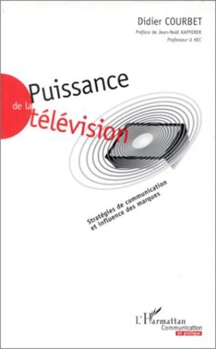 Couverture PUISSANCE DE LA TELEVISION