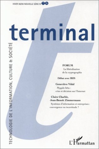 Couverture TERMINAL N°78