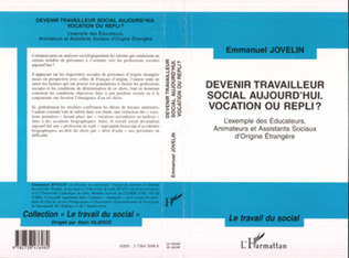 Couverture DEVENIR TRAVAILLEUR SOCIAL AUJOURD'HUI