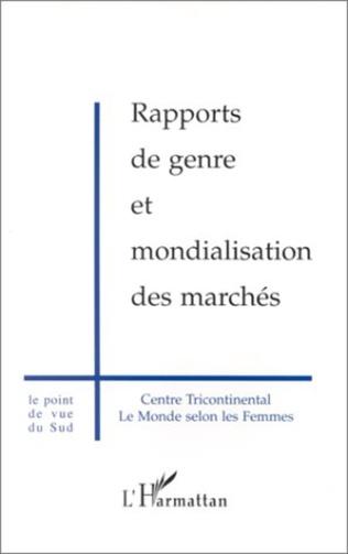 Couverture RAPPORTS DE GENRE ET MONDIALISATION DES MARCHES