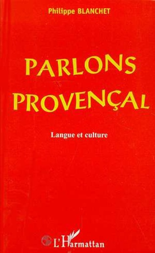 Couverture PARLONS PROVENÇAL