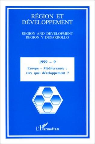 Couverture EUROPE - MEDITERRANEE : Vers quel développement ?