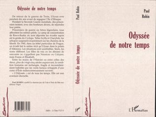 Couverture ODYSSEE DE NOTRE TEMPS