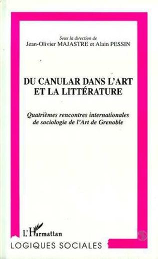 Couverture CANULAR (DU) DANS L'ART ET LA LITTÉRATURE