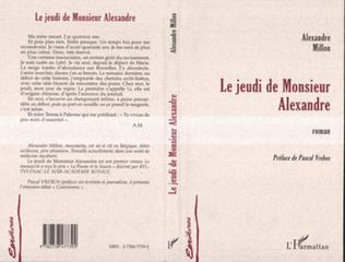 Couverture LE JEUDI DE MONSIEUR ALEXANDRE