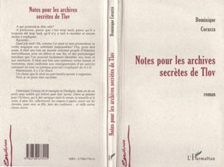 Couverture NOTES POUR LES ARCHIVES SECRÈTES DE TLOV