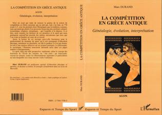 Couverture LA COMPÉTITION EN GRÈCE ANTIQUEAGON