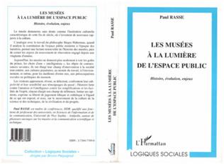Couverture LES MUSÉES A LA LUMIÈRE DE L'ESPACE PUBLIC