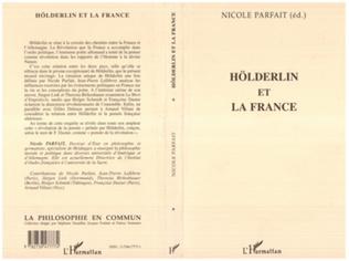 Couverture HÖLDERLIN ET LA FRANCE