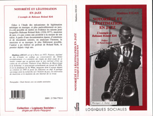Couverture NOTORIETE ET LEGITIMATION EN JAZZ