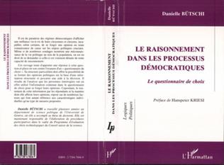 Couverture LE RAISONNEMENT DANS LES PROCESSUS DÉMOCRATIQUES