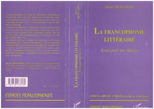 Couverture LA FRANCOPHONIE LITTERAIRE