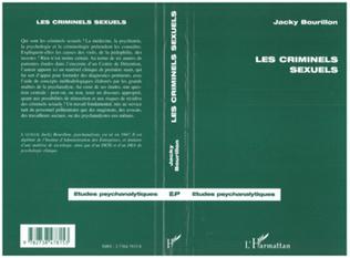 Couverture LES CRIMINELS SEXUELS