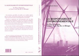 Couverture LA RESPONSABILITE ENVIRONNEMENTALE