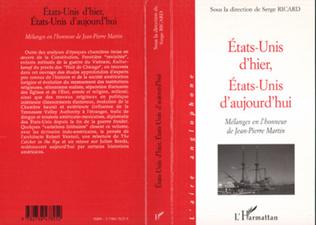 Couverture ÉTATS-UNIS D'HIER, ÉTATS-UNIS D'AUJOURD'HUI