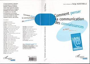 Couverture COMMENT PENSER LA COMMUNICATION DES CONNAISSANCES