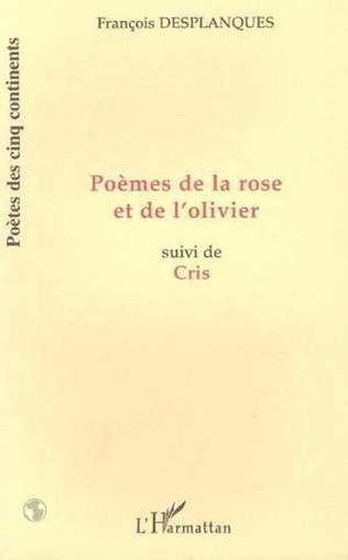 Couverture POÈMES DE LA ROSE ET DE L'OLIVIER