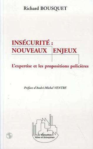 Couverture INSECURITE : NOUVEAUX ENJEUX