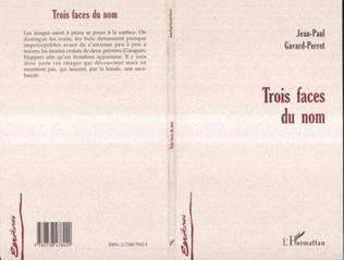 Couverture TROIS FACES DU NOM