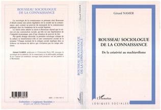 Couverture ROUSSEAU SOCIOLOGUE DE LA CONNAISSANCE