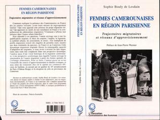 Couverture FEMMES CAMEROUNAISES EN RÉGION PARISIENNE