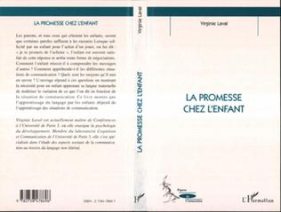 Couverture LA PROMESSE CHEZ L'ENFANT
