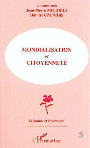 Couverture MONDIALISATION ET CITOYENNETÉ