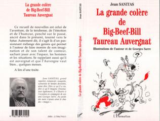 Couverture LA GRANDE COLERE DE BIG-BEEF-BILL TAUREAU AUVERGNAT