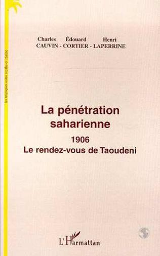 Couverture La pénétration saharienne