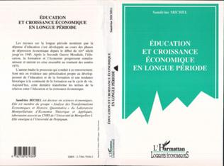 Couverture EDUCATION ET CROISSANCE ECONOMIQUE EN LONGUE PERIODE