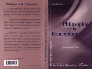 Couverture Philosophie de la francophonie