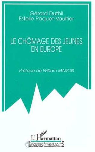 Couverture LE CHÔMAGE DES JEUNES EN EUROPE