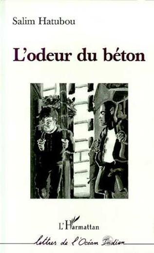 Couverture L'ODEUR DU BETON