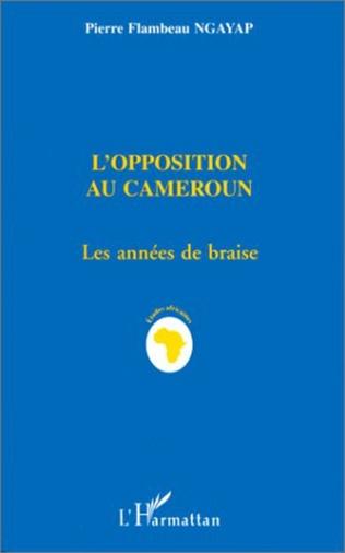 Couverture L'opposition au Cameroun