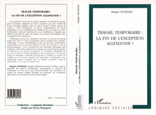 Couverture TRAVAIL TEMPORAIRE : LA FIN DE L'EXCEPTION ALLEMANDE ?