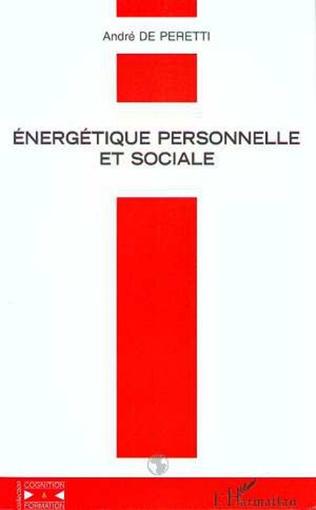 Couverture ÉNERGÉTIQUE PERSONNELLE ET SOCIALE