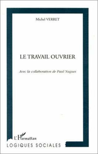 Couverture LE TRAVAIL OUVRIER