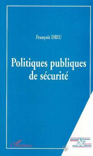 Couverture POLITIQUES PUBLIQUES DE SECURITE