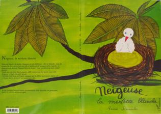 Couverture NEIGEUSE LA MERLETTE BLANCHE