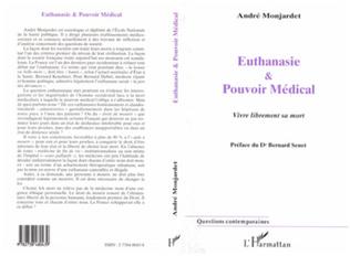 Couverture EUTHANASIE ET POUVOIR MEDICAL