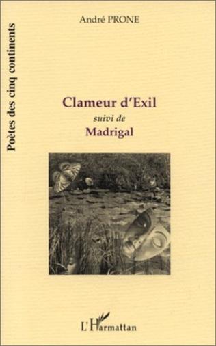 Couverture CLAMEUR D'EXIL