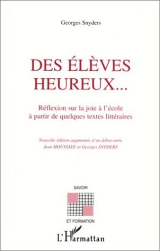 Couverture ÉLÈVES (DES) HEUREUX…