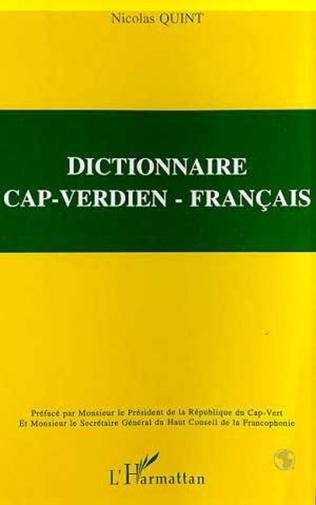 Couverture DICTIONNAIRE CAP-VERDIEN - FRANÇAIS