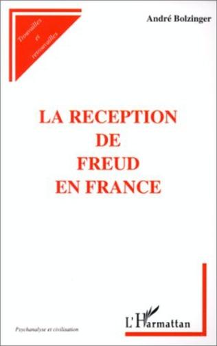 Couverture LA RECEPTION DE FREUD EN FRANCE
