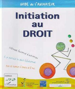 Couverture MÉTHODE ÉDUCATIVE D'INITIATION AU DROIT