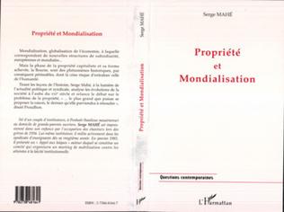 Couverture PROPRIETE ET MONDIALISATION