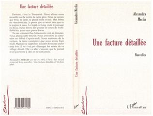 Couverture FACTURE (UNE) DÉTAILLÉE