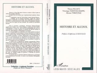Couverture HISTOIRE ET ALCOOL